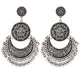 #5: UNKE 1Pair Vintage Bohemian Dangle Earrings Ethnic Chandelier Earring For Women