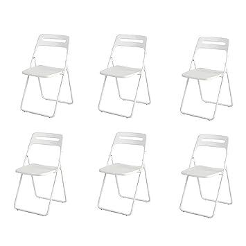 ECSD Sillas Plegables Plásticas Modernas De La Silla del ...