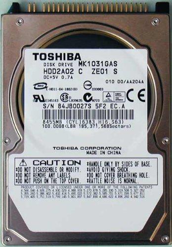 Toshiba MK1031GAS 100.0GB IDE 2.5