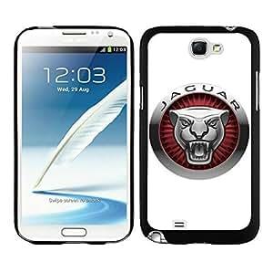 Personalized Case Jaguar 4 Samsung Galaxy Note 2 Case in Black WANGJING JINDA