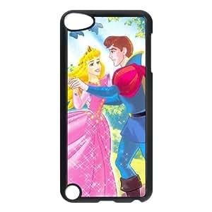 iPod Touch 5 Case Black Sleeping Beauty 001 IX7624328