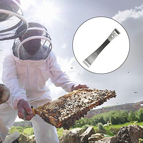 ステンレス鋼 養蜂用器具 8点セット 燻煙器 養蜂用 養蜂用ブラシ 養蜂フレームホルダー 蜜蓋かき器 採蜜ツール 歯車 ハイブツール 歯車埋線器 マーキングカップ 使いやすさ 養蜂ツールキット 養蜂用品