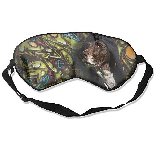 - Eye Mask Eyeshade Dogs Graffiti Sleeping Mask Blindfold Eyepatch Adjustable Head Strap