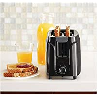 Mainstays 2-Slice Toaster With 6-Setting Browning Knob