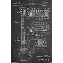 Gibson Guitar by Ted McCarty 22x34 Poster