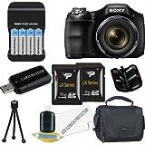 Sony Cyber-shot DSC-H200 Digital Camera 24GB Package 3
