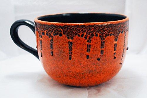 Giant Coffee Mugs – Pumpkin Spice Shimmer