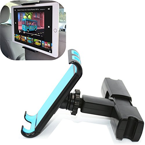Ablerv Adjustable Car Seat Headrest Mount and Holder Apple ipad Series and Samsung Note, Motorola Xoom and 4.5