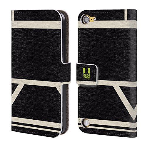 Head Case Designs Afoso Mattoncini Colorati Cover a portafoglio in pelle per iPod Touch 5th Gen / 6th Gen
