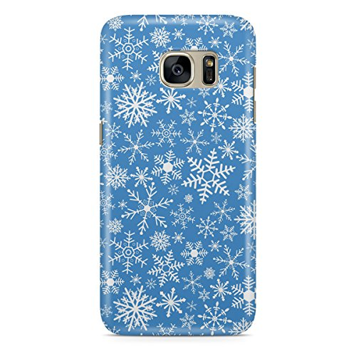 Phone Case For Apple iPhone 5C - Snow Flakes Protective Hardshell