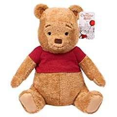 """Relive the adventures of Disney's new live action film, Christopher Robin: the movie with the adorable Winnie the Pooh plush! Winnie the Pooh stands 14"""" tall and is made with Super soft and cuddly fabrics. He wears his iconic red shirt and fe..."""