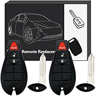 Sale Keyless Entry Remote YITAMOTOR Car Remote Control Replacement Key Fob 3 Button for M3N5WY783X IYZ-C01C (Pack of 2)