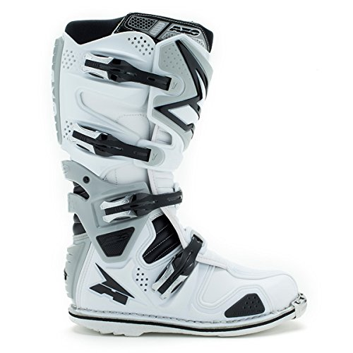 Stivali Moto Axo Motocross A2 White Eu 47