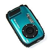 PowerLead PLDH12 2.7 Inch LCD Cameras 16 MP Digital Camera Underwater 10m Waterproof Camera+ 8x Zoom(blue)