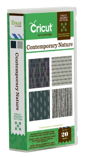 Cricut Imagine Colors and Patterns Card Making Cartridge, Contemporary Nature ()