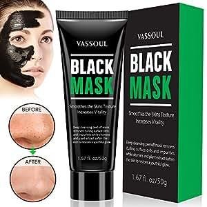 Vassoul Blackhead Remover Mask, Deep Pore Cleansing for Face Nose Acne Treatment Oil Control