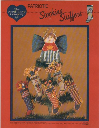 Patriotic Stocking - Patriotic Stocking Stuffers - Counted Cross Stitch Designs by Need'l Love - L32-SS2 (Need'l Love)