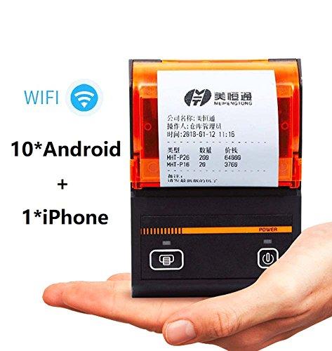 FREELOVE WiFi caja registradora térmica de recibos impresora, 58mm, comida para llevar, PEDIDOS automático,...