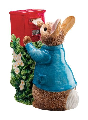 Beatrix Potter Peter Posting A Letter Money Bank (Rabbit Peter Bank)