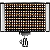 Neewer Dimmable Bi-color LED with Standard Cold Shoe Professional on Camera Video Light for Portrait Product Photography, Studio, YouTube Outdoor Video Shooting, 280 LED Beads, 3200-5600K, CRI 95+