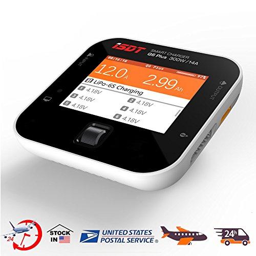 ISDT Q6 Plus 300W 14A Smart Pocket Battery Balance Charger LiPo LiFe LiHv NIMH US