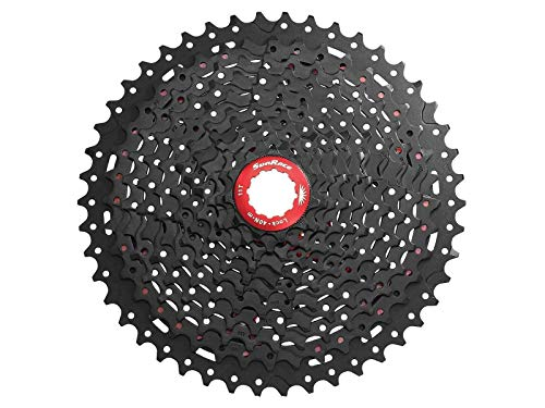 - Sunrace MX8 11 Speed Mountain Bike Bicycle Cassette 11-46T Black