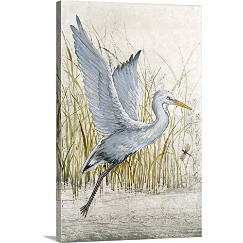 Tim O'Toole Premium Thick-Wrap Canvas Wall Art Print Entitled Heron Sanctuary I 20