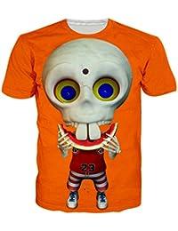 Unisex 3D Creative Galaxy Printed Short Sleeve T-Shirts Tees