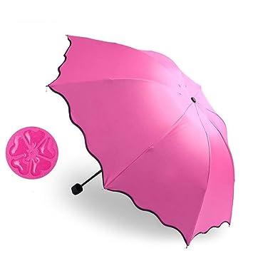a76c215515 Paraguas Plegables Automático Antiviento Paraguas Originales de Colores  Mujer Hombre Ligero Resistente y Compacto: Amazon.es: Deportes y aire libre