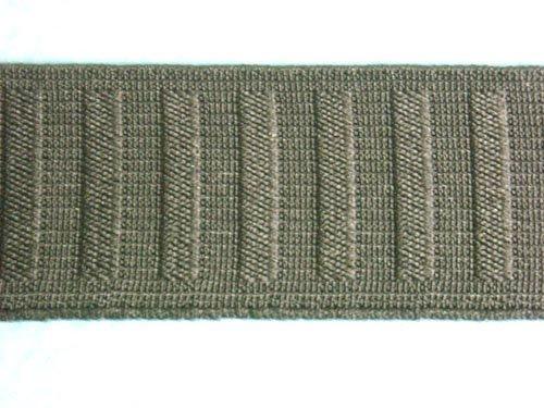 Roll Flat Non (Wholesale Flat Woven Non Roll Elastic - Black 1 1/4