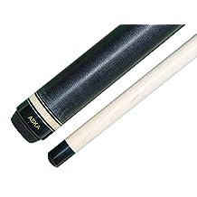 Jump Break Cue Stick Aska JBC Black, 3pc Cue, Jump /Break Cue. 13mm Tip, Hard Rock Canadian Maple Shaft