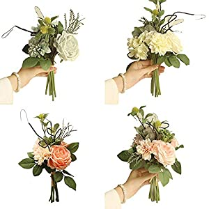 Artificial Plants - Artificial Fake Peony Flower Bridal Hydrangea Home Wedding Garden Decoration - Baskets Nearly Roses Branches Indoor Decorative Money Cactus Natural Outdoors Daisies Violet Ro 102