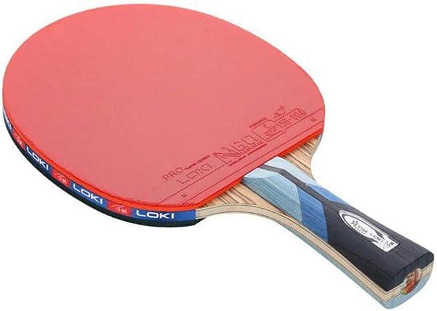 KUANDARPP Ping Pong Raqueta De Tenis De Mesa Ping Pong Goma De ...