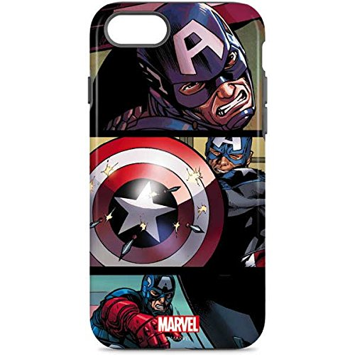 on sale 926c9 a53db Amazon.com: Captain America iPhone 8 Case - Captain America in ...