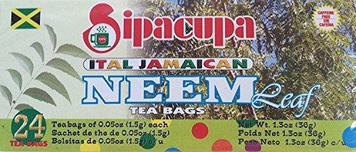 Neem Tea (Sipacupa Ital Jamaican Neem Leaf Tea Bags)