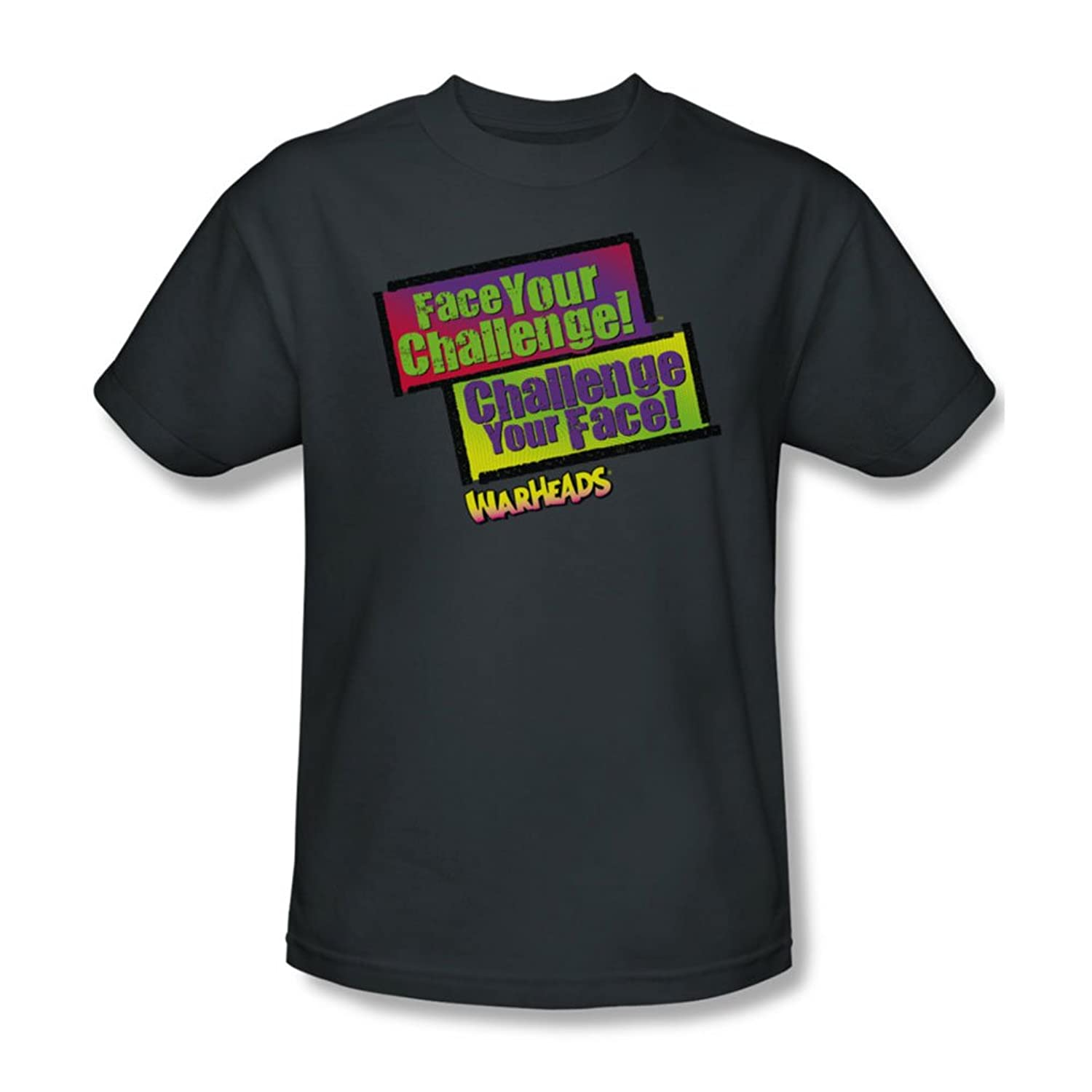 Warheads - Mens Face Your Challenge T-Shirt
