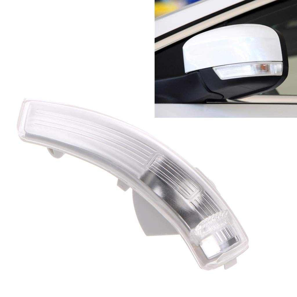 huiouer Left Is Cab Mirror Turn Signal Corner Light Lamp Cover Shade For Ford Focus II 2 III 3 Mondeo