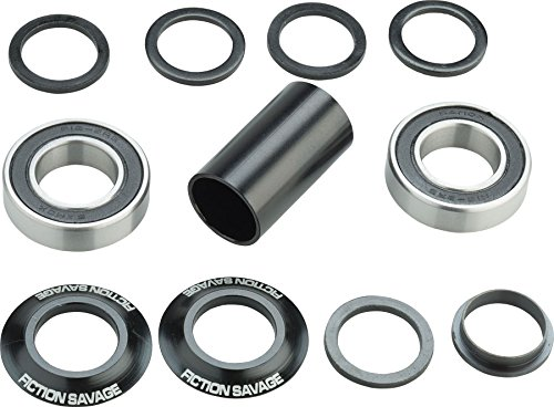 Fiction Savage Mid Bottom Bracket 21mm Black by Fiction