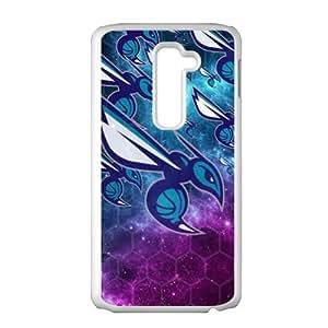 Charlotte Hornets NBA White Phone Case for LG G2 Case