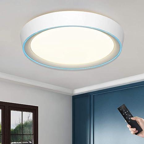 Lámpara de techo regulable con mando a distancia, 36 W, 50 ...