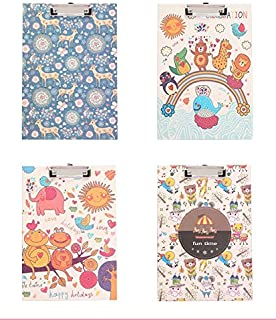 YLLY A4 Cute Animal Clipboard Maman à Motifs des Conversations Porte-Documents Business Portable Bloc-Notes
