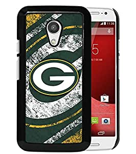 Motorola Moto G (2nd generation) Case,Green Bay Packers Black For Motorola Moto G (2nd generation) Case