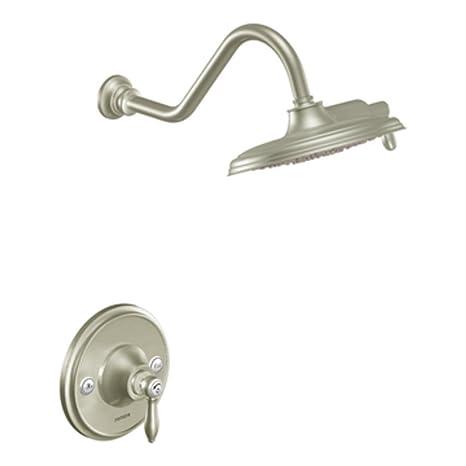 Moen S12107epbn Weymouth Hand Shower Brushed Nickel Home Improvement Home & Garden