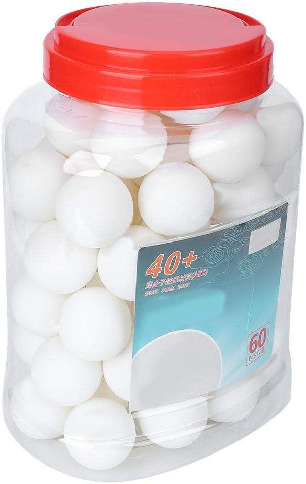 Jaune balles de ping-pong ABS non-inflammable /école jeu de formation balle de tennis de table 3 /étoiles 40 60pcs jeu de balles de tennis de table