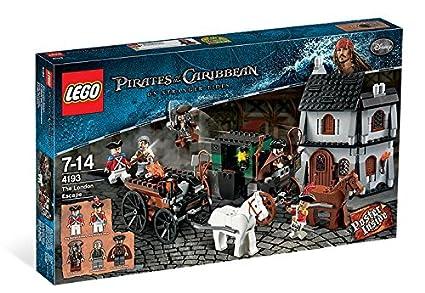 Amazoncom Lego Pirates Of The Caribbean On Stranger Tides The