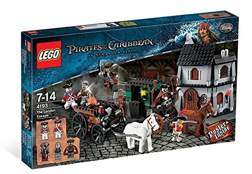 LEGO Pirates Of the Caribbean On Stranger Tides The London Escape 4193]()