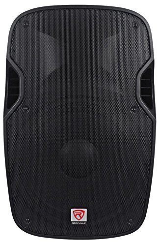 Rockville SPGN158 15'' Passive 1600W DJ PA Speaker ABS Lightweight Cabinet 8 Ohm by Rockville