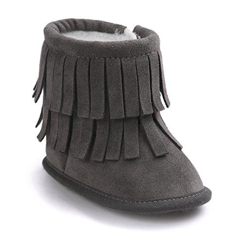 kuner-infant-baby-girls-boys-tassel-plush-moccasins-non-slip-prewalker-outdoor-warm-snow-boots-0-18m
