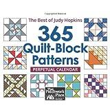 365 Quilt-Block Patterns Perpetual Calendar: The Best of Judy Hopkins