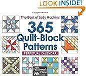 365 Quilt-Block Patterns Perpetual Calendar